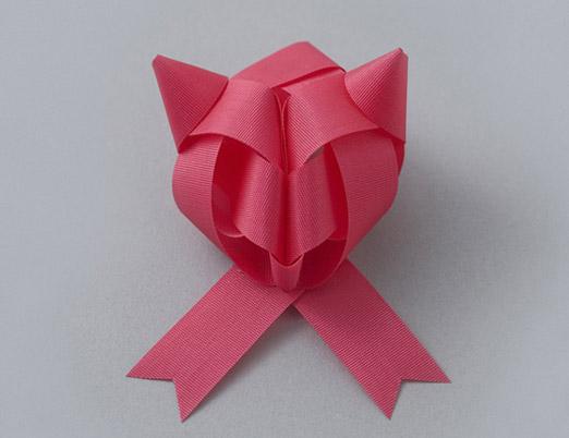 pink fox bow