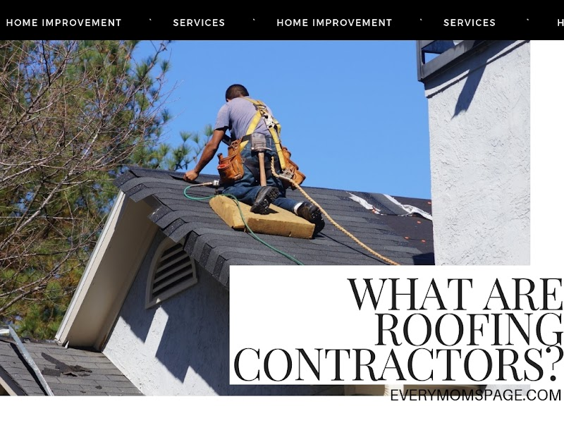 What Are Roofing Contractors?