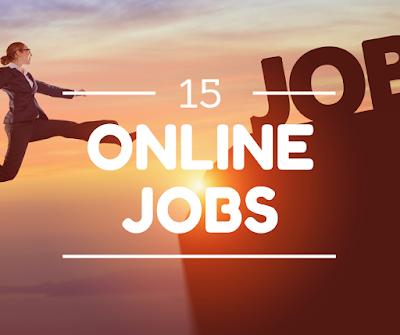 15 online jobs