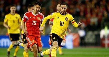 موعد مباراة منتخب روسيا ومنتخب بلجيكا كاس الامم الاوروبيه