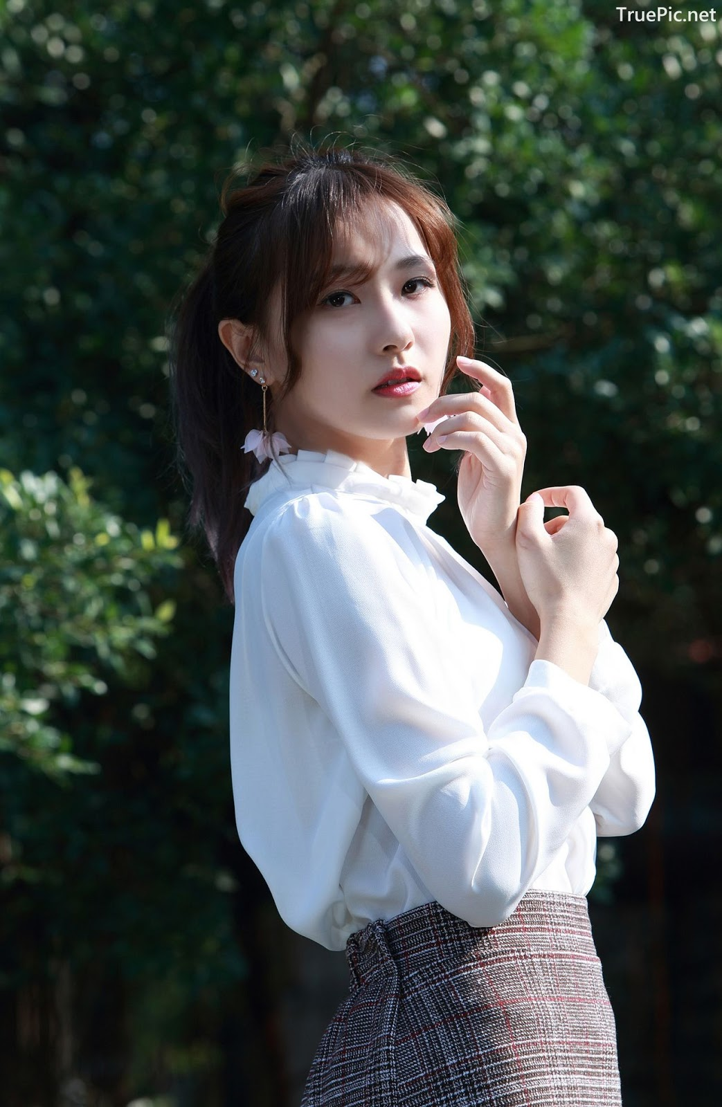 Image-Taiwanese-Model-郭思敏-Pure-And-Gorgeous-Girl-In-Office-Uniform-TruePic.net- Picture-3