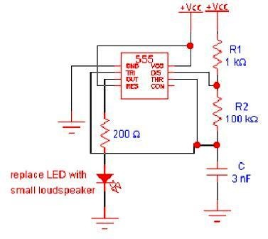 Produce Oscillator Applications Using the version of the 555 IC