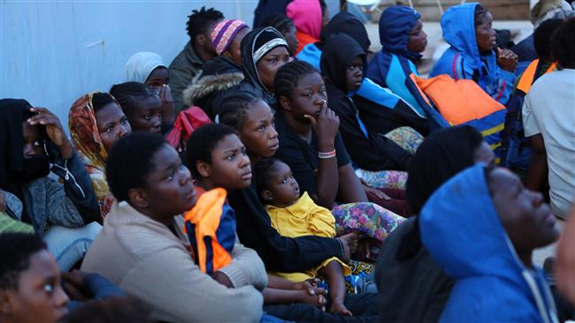 International Organization for Migration says 60 missing feared drowned after boat sinks off Libya