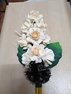ดอกไม้จันทน์แฟนซีแบบช่อประธานใหญ่