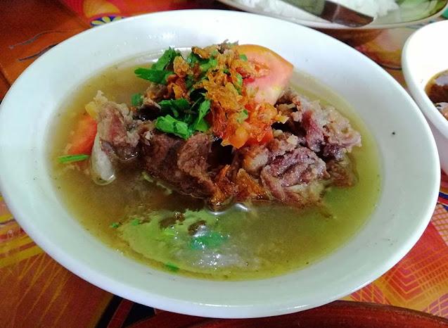 Sop Tulang RM Cirebon Sekupang