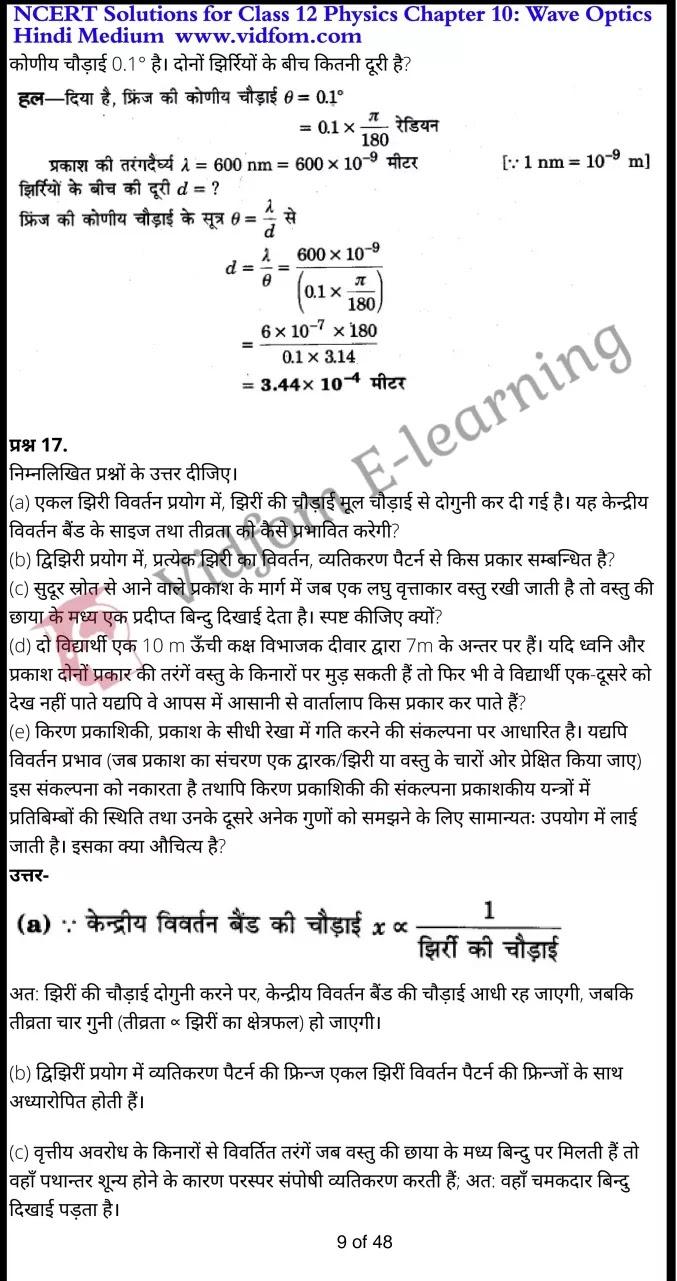 class 12 physics chapter 10 light hindi medium 9