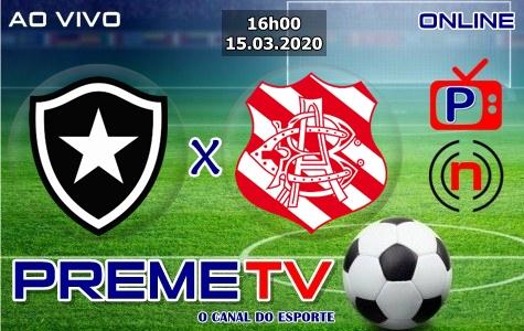 Botafogo-RJ x Bangu Hoje Ao Vivo