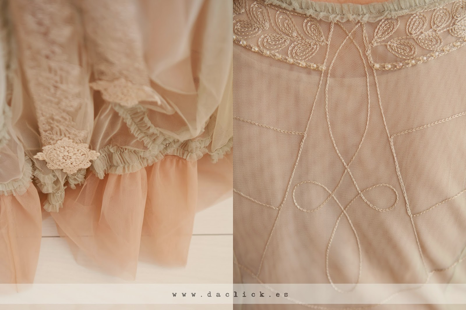 bordados de vestido de novia vintage