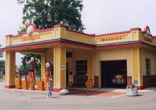 Growing Up In The South U S Gasoline Service Stations