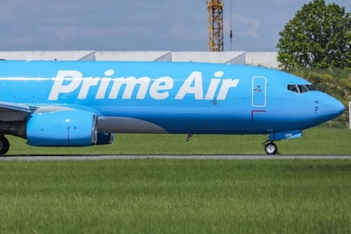 Amazon is buying used commercial aircraft for the first time