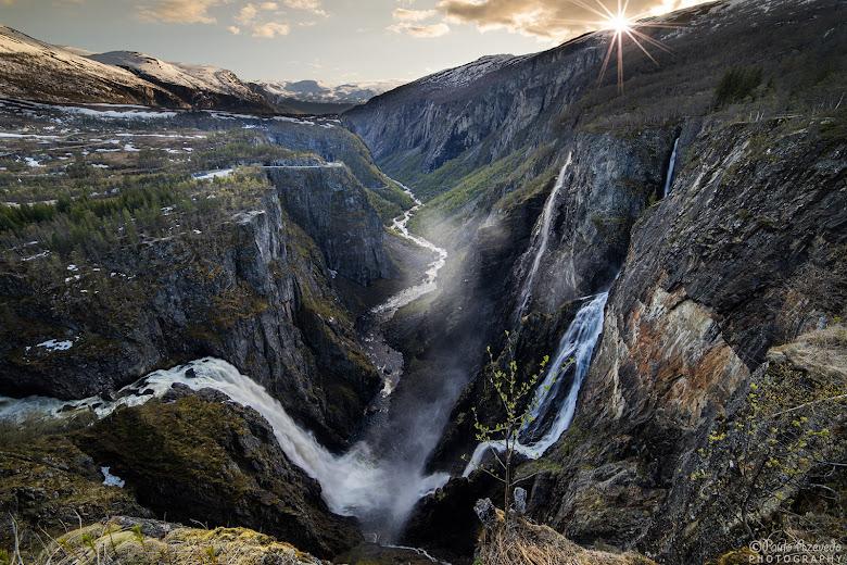 Vøringfossen - A cascata mais dramática da Noruega