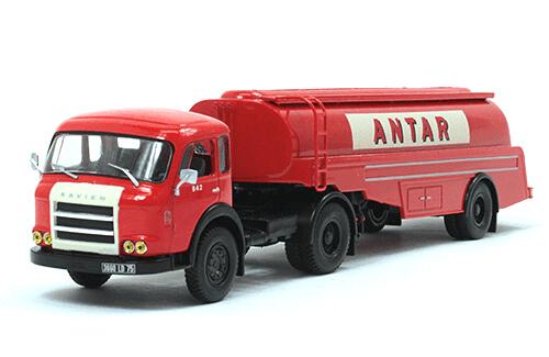 coleccion camiones articulados, camiones articulados 1:43, Saviem JM 200 camiones articulados