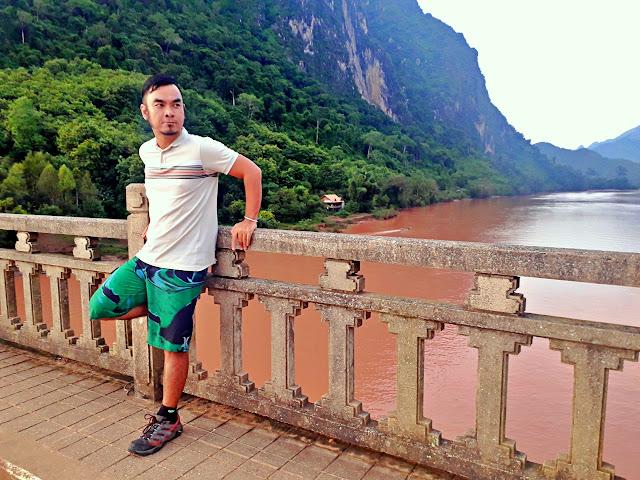 Marky Ramone Go in Nong Kiau Riverside