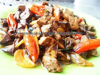 Resep tumis hati ayam kecap dimasak yummy dengan bumbu sederhana RESEP HATI AYAM TUMIS BUMBU KECAP
