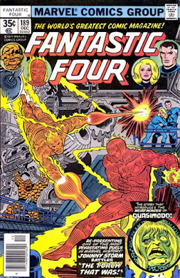 Fantastic Four #189, the Original Human Torch