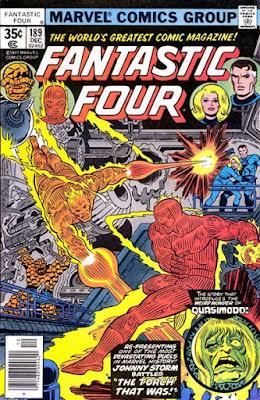 Fantastic Four #189, the Original Human Torch