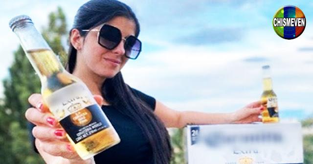 NORMALITO | Erika Schwarzgruber promociona beber cerveza estando embarazada