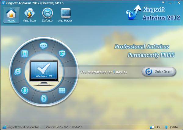 Software you need: kingsoft antivirus 2012 sp3. 5 final. Free download.