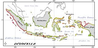 peta map indonesia