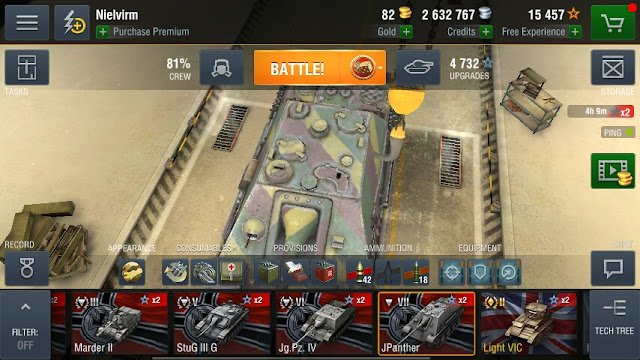 Tutorial Bermain World of Tanks Blitz Destroyer JPanther