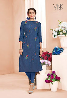 Vink Venice vol 4 party wear kurtis wholesaler