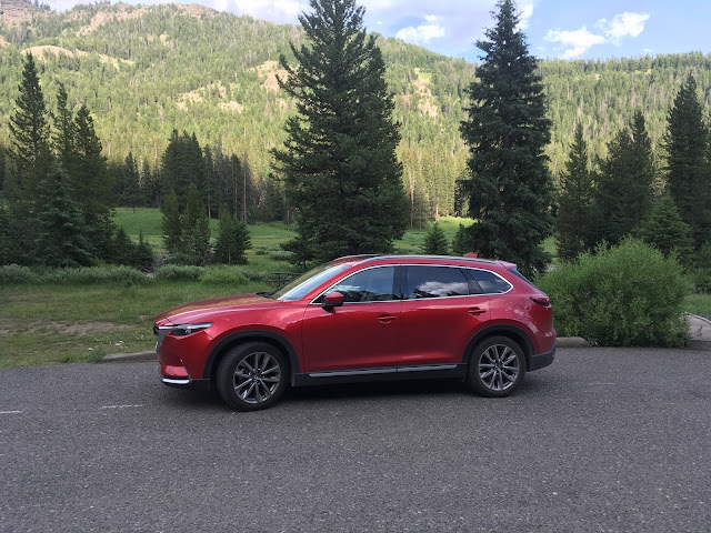 Side view of 2017 Mazda CX-9 Grand Touring