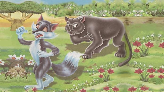 La volpe e la pantera - Esopo