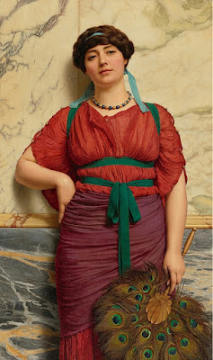 ohn William Godward - Eurypyle