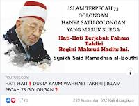 Hadits Untuk Mengkafirkan - Kajian Islam Tarakan