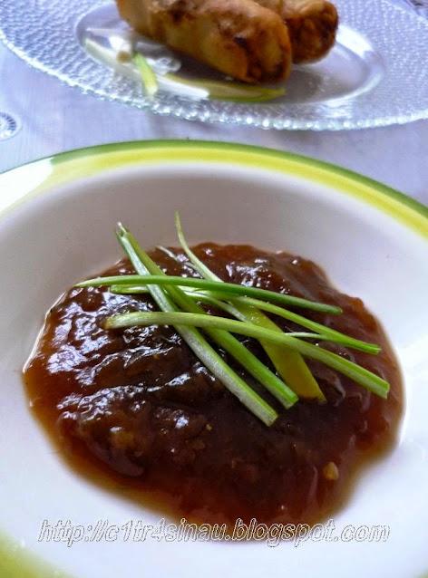 Dipping Sauce recipes (Aneka saus celupan untuk dim sum/ dumpling, dll) | Çitra's Home Diary. #dumplingsaucerecipe #dumpling #Indonesianfood #Asianfood #asiansaucerecipe #dumpling