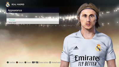 PES 2021 Faces Luka Modrić