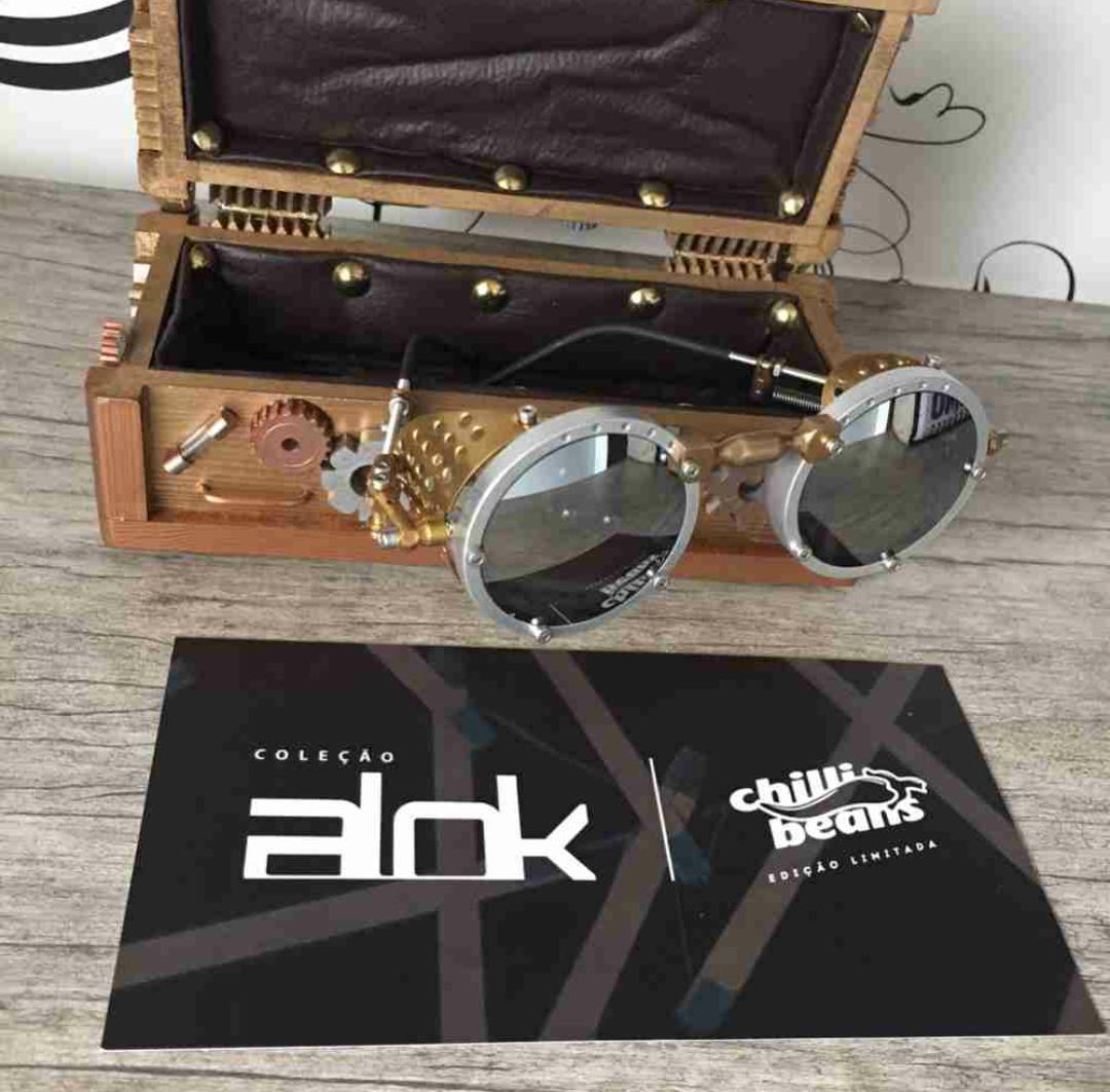 Coleção Chilli Beans + DJ Alok   Line Lihh 04bfb551f8