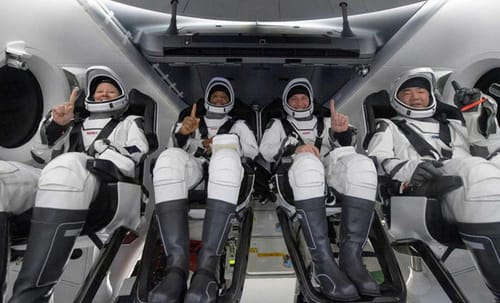SpaceX is bringing back astronauts from the International Space Station
