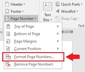 Cara Membuat Format Nomor Halaman Menjadi Romawi di Word
