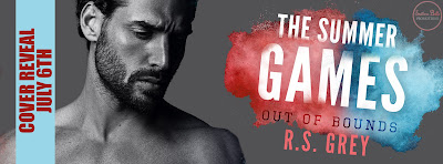 Cover Reveal: The Summer Games: Out of Bounds by R.S. Grey