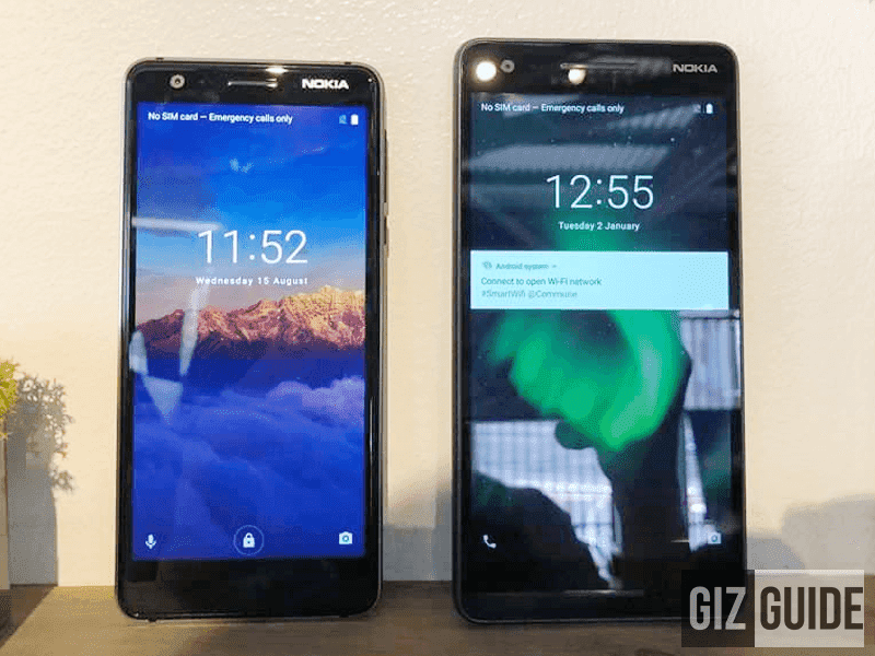 What's new about the Nokia 2.1 and Nokia 3.1?