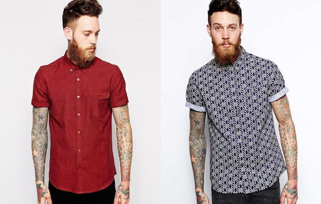 camisa manga curta masculina estampada como usar onde comprar