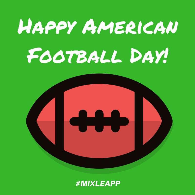 American Football Day Wishe