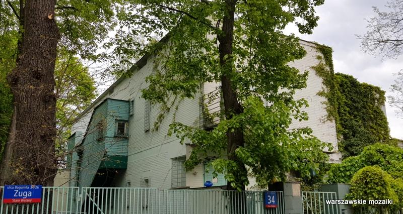 Warszawa Warsaw Stare Bielany willa dom architektura Związkowiec architecture
