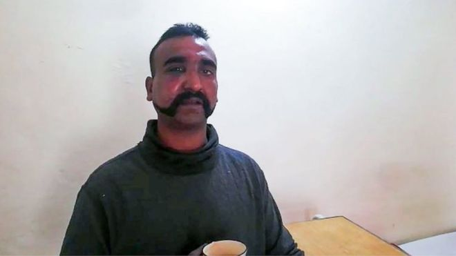 Indian Wing Commander Abhinandan