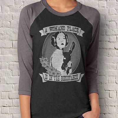 Leia Shirt on Etsy