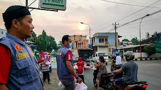 PCPM Dan Kokam Bangsri Dukung Giat SD Muhammadiyah Bangsri Turun Jalan