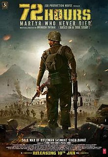 72 Hours Martyr Who Never Died (2019) Full Movie Hindi HDRip 720p