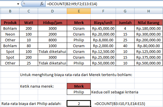 contoh_fungsi_dcount_excel