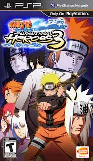 Download Naruto Shippuden Ultimate Ninja Hereos 3 PPSSPP ISO