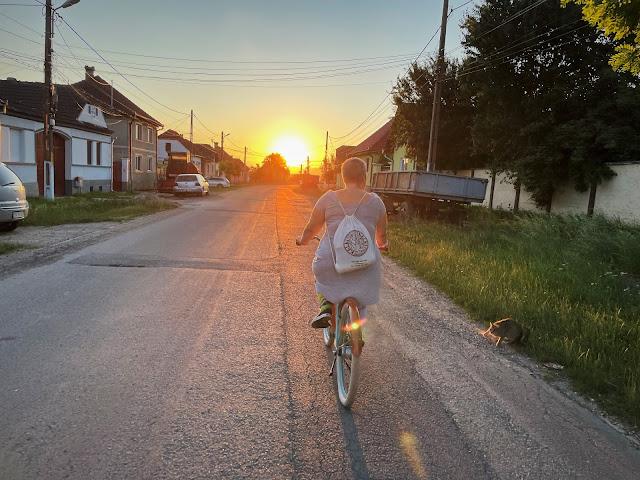 Pe bici, la Sanpetru