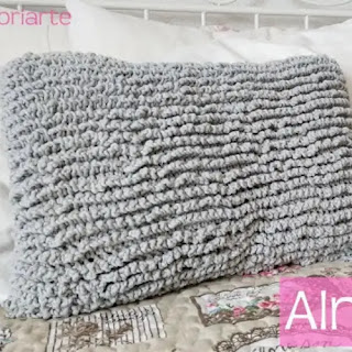 Cojín o Almohada a Crochet