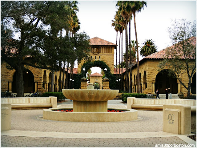 Fuente Green Library, Universidad de Stanford