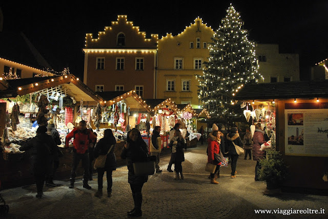 Mercatini di Natale in Trentino: Merano e Vipiteno