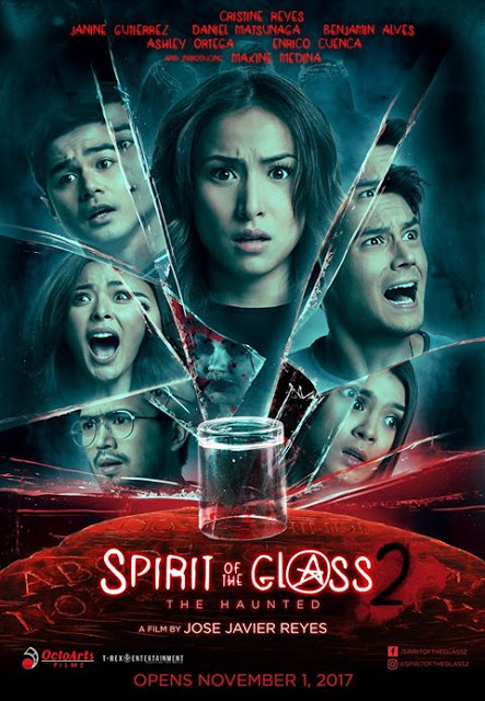 Spirit Of The Glass 2: The Haunted PH Release Date on November 1, 2017